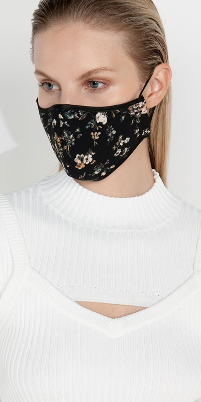 Accessories  | Floral Face Mask