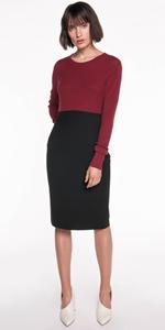 Skirts | Twill Pencil Skirt