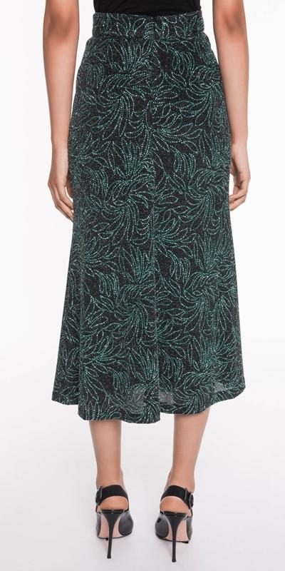 Skirts | Sparkle Floral Midi