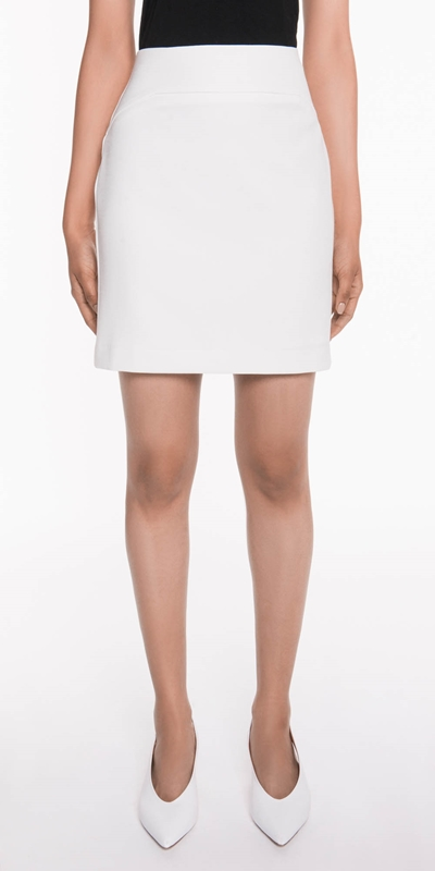 Skirts  | White Mini