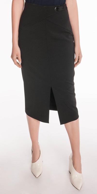 Wear to Work  | Front Split Pencil Skirt