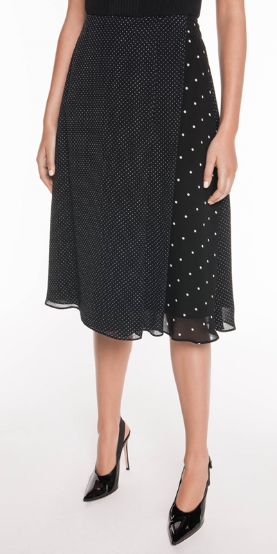 Sale  | Spot Jacquard Skirt