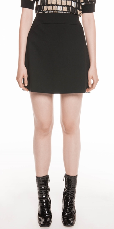 Skirts  | Double Weave Mini Skirt