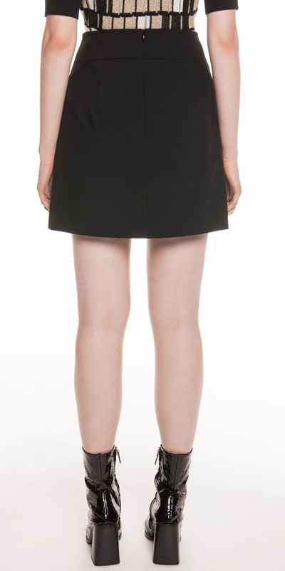 Skirts | Double Weave Mini Skirt