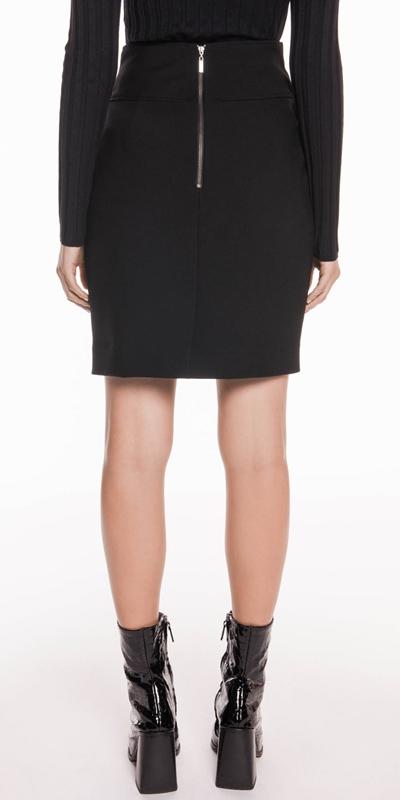 Skirts   Soft Twill Tulip Skirt