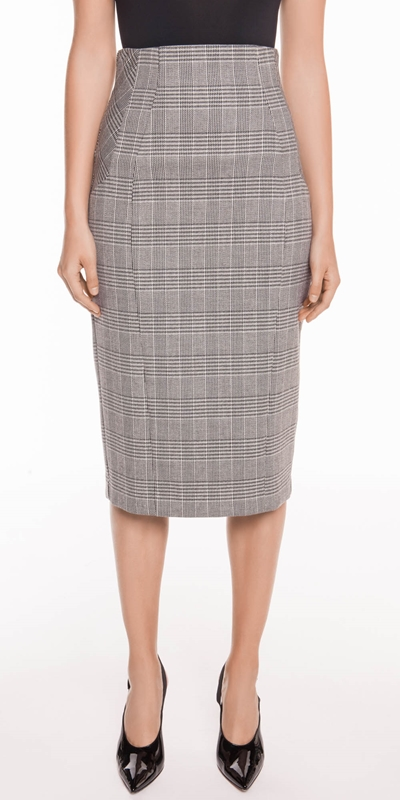 Wear to Work  | Houndstooth Pencil Skirt