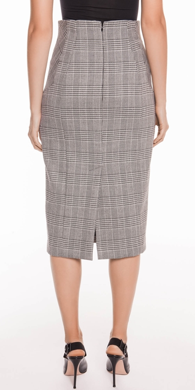Skirts | Houndstooth Pencil Skirt