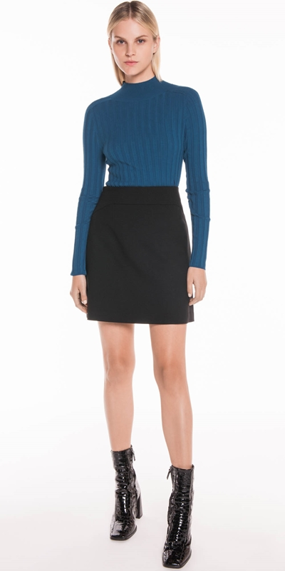 Sale | Soft Twill Mini Skirt
