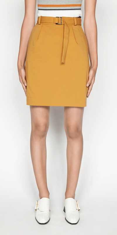 Sale  | Belted Mini Skirt