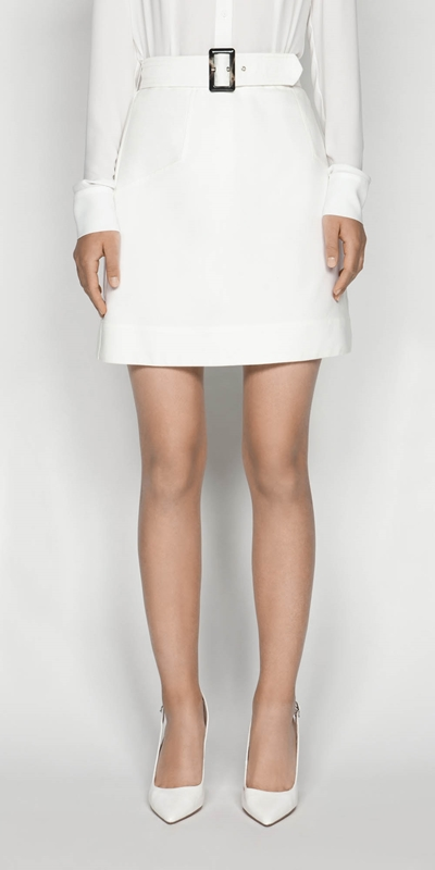Skirts  | Belted Mini Skirt