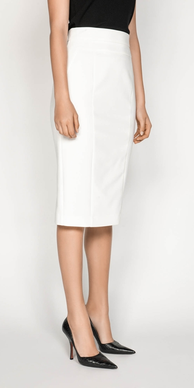 Skirts | High Waisted Pencil Skirt