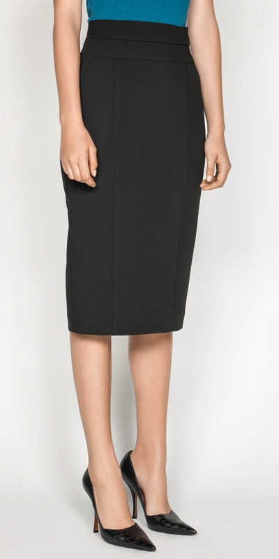 Wear to Work  | High Waisted Pencil Skirt