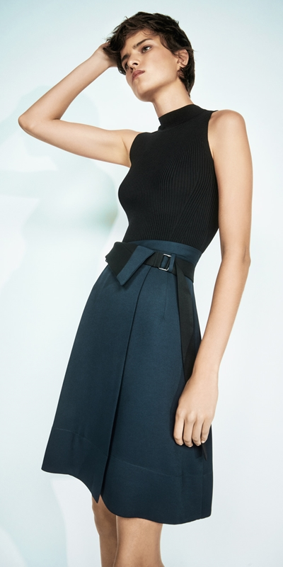 Made in Australia  | Belted Wrap Skirt