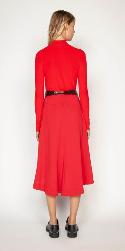 Skirts | Ruby Pleated Midi Skirt