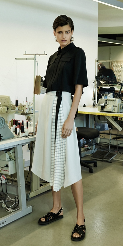 Wear to Work  | Pleated Midi Skirt
