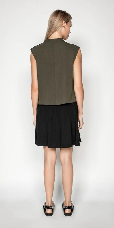 Skirts | Drapey Utility Skirt