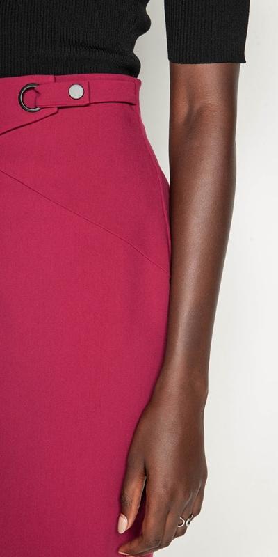 Skirts | Front Split Pencil Skirt