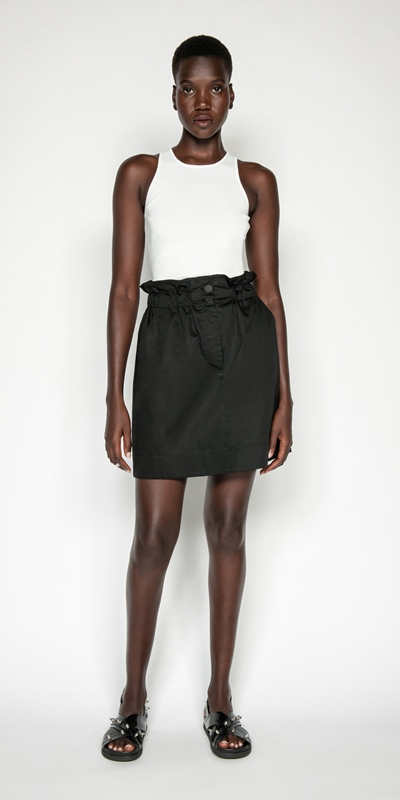 Made in Australia | Paper Bag Waist Skirt