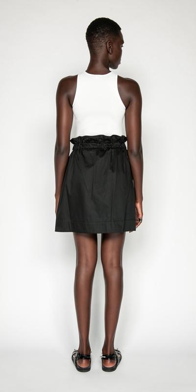 Skirts | Paper Bag Waist Skirt
