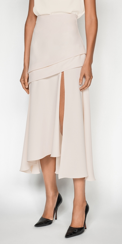 Made in Australia  | Split Front Midi Skirt