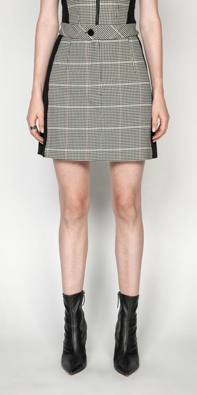 Skirts | Gingham Mini Skirt