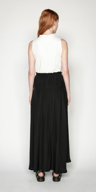 Skirts | Viscose Cargo Maxi Skirt