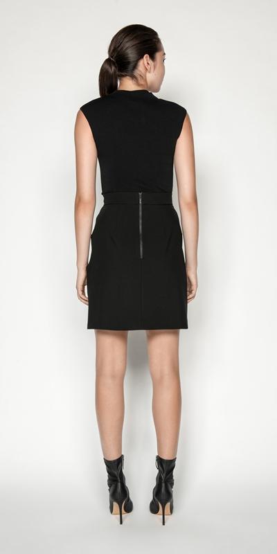 Skirts   Twist Waist Mini Skirt