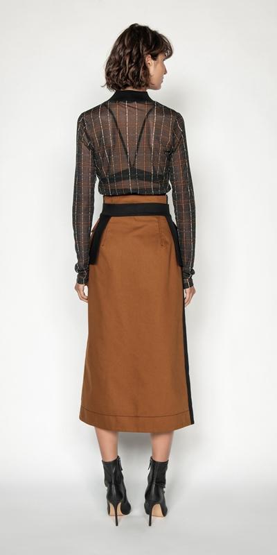 Skirts | Cinnamon Utility Midi Skirt