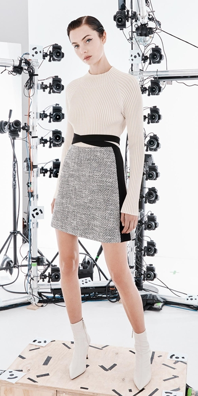 Skirts  | Waist Wrap Mini Skirt