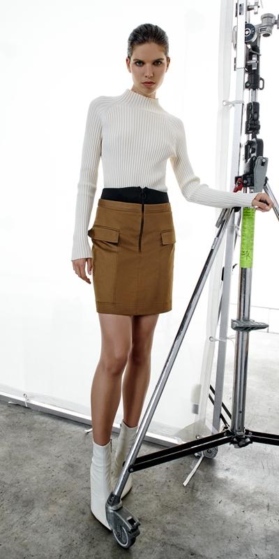 Skirts  | Cotton Corset Mini Skirt