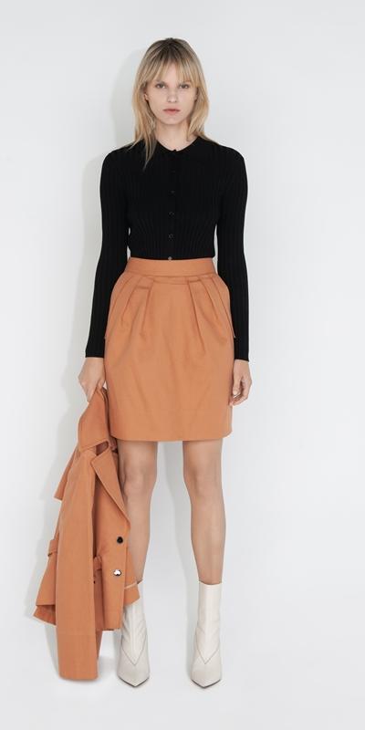 Sale | Cotton Mini Skirt