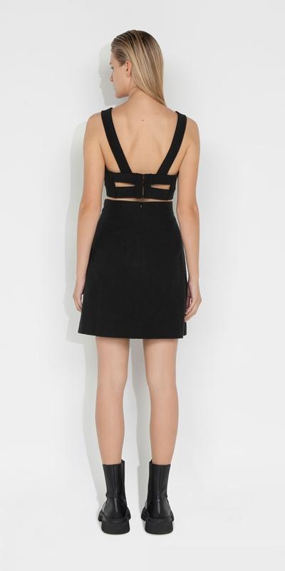 Skirts | Boucle Tweed A-line Skirt