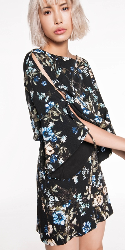 Jumpsuits | Night Shade Floral Playsuit
