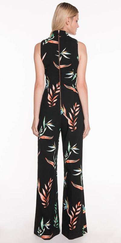 Pants   Paradise Floral Jumpsuit