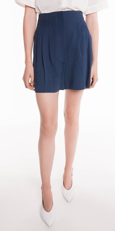 Made in Australia  | High Waisted Linen Short