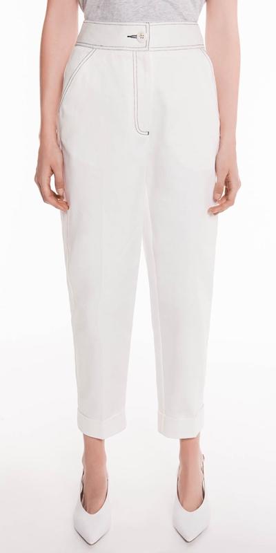 Sale  | White Denim Jean