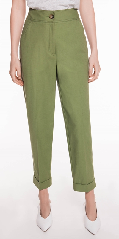 Made in Australia  | High Waisted Cropped Pant