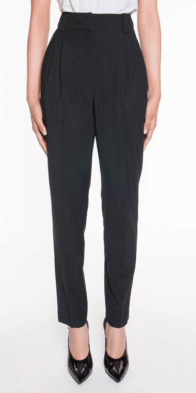 Pants  | Cropped Waist Tuck Pant