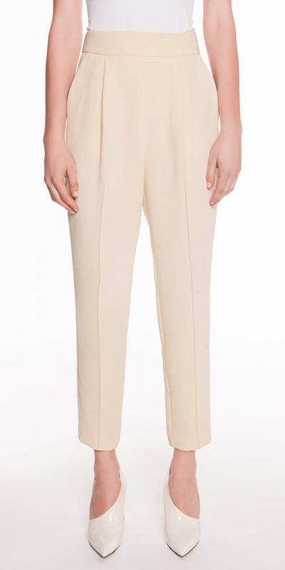 Pants  | Soft Twill Crepe Pant