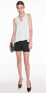 Pants | Linen Twill Shorts