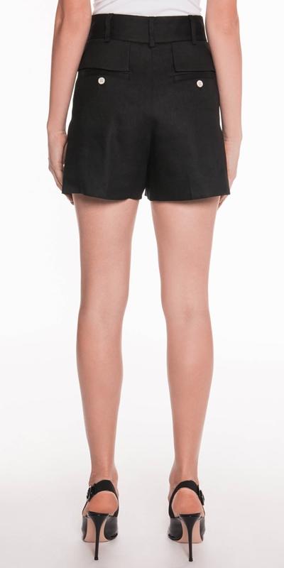 Pants   Linen Twill Shorts