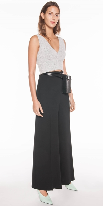 Made in Australia | Soft Crepe Wide Leg Pant