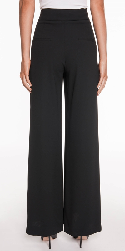 Pants  | Soft Crepe Wide Leg Pant