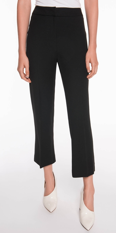 Pants  | Stretch Twill Straight Leg Pant