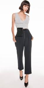 Pants   Drapey Pique Slim Pant
