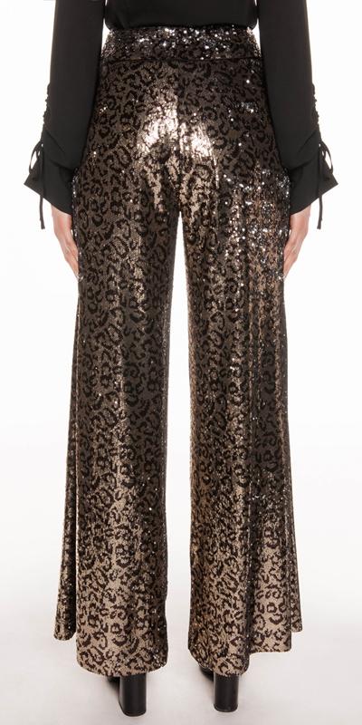 Pants | Leopard Sequin Trouser