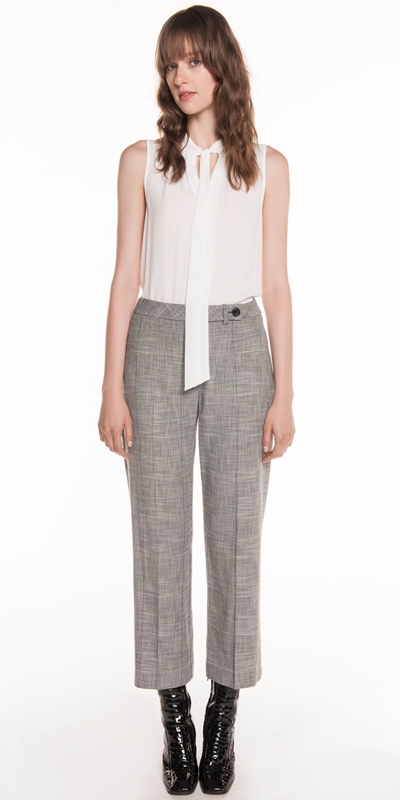 Sale | Monochrome Check Trouser