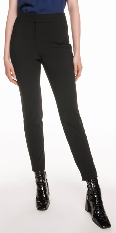 Pants  | Double Weave Slim Pant