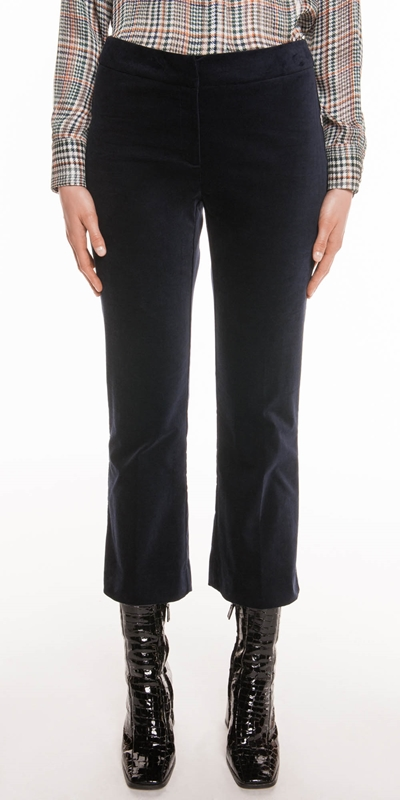 Pants | Midnight Velveteen Pant