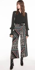 Pants | Scarf Print Pant